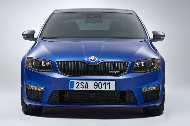 frontale Octavia RS
