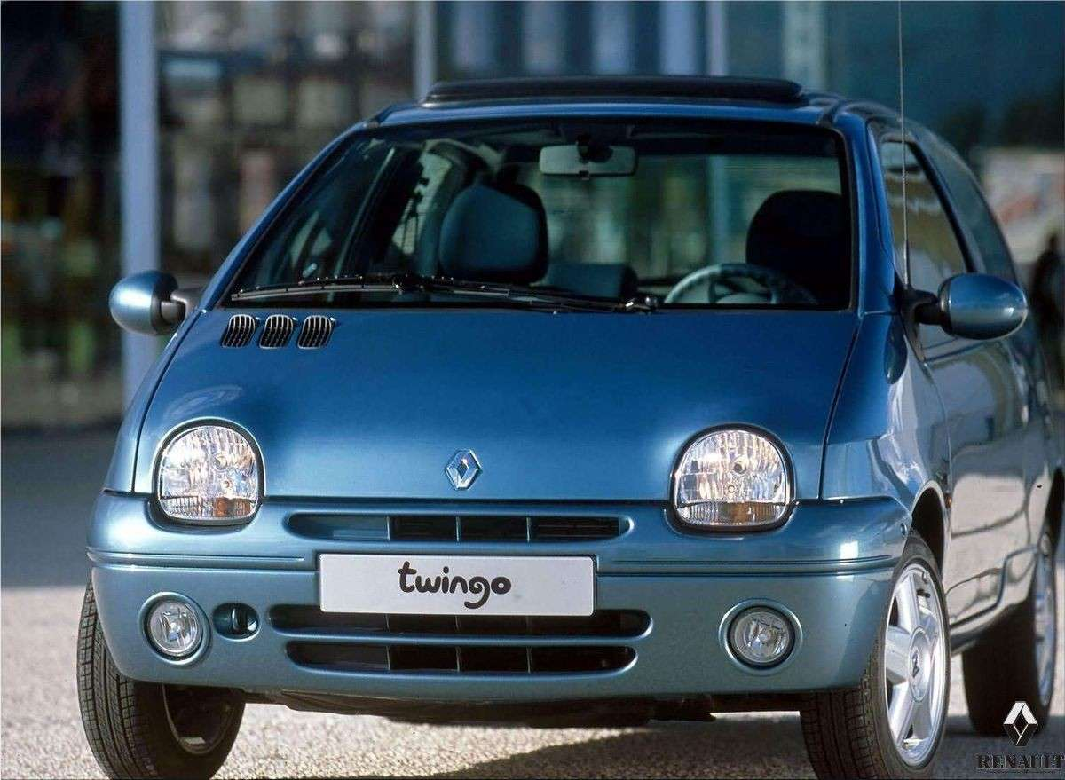 restyling 1998 Renault Twingo