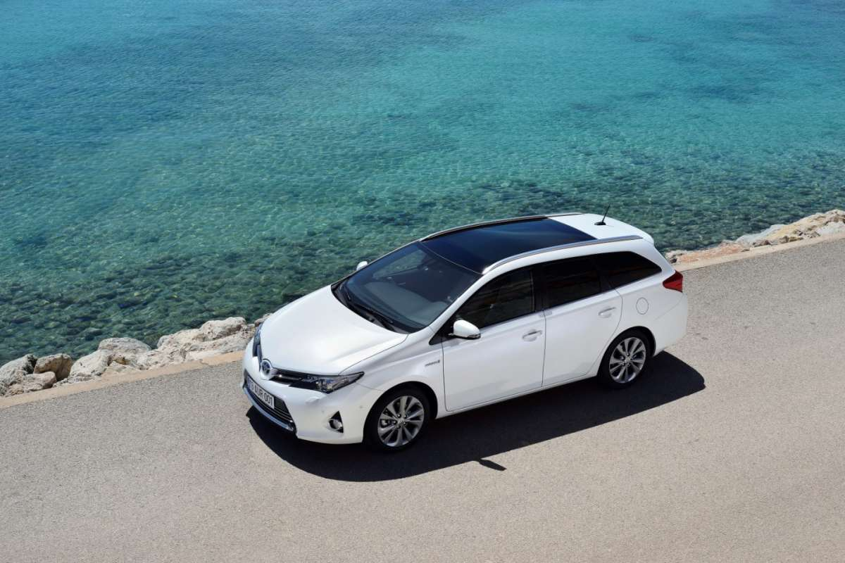 Auris Touring Sports, tetto Skyview
