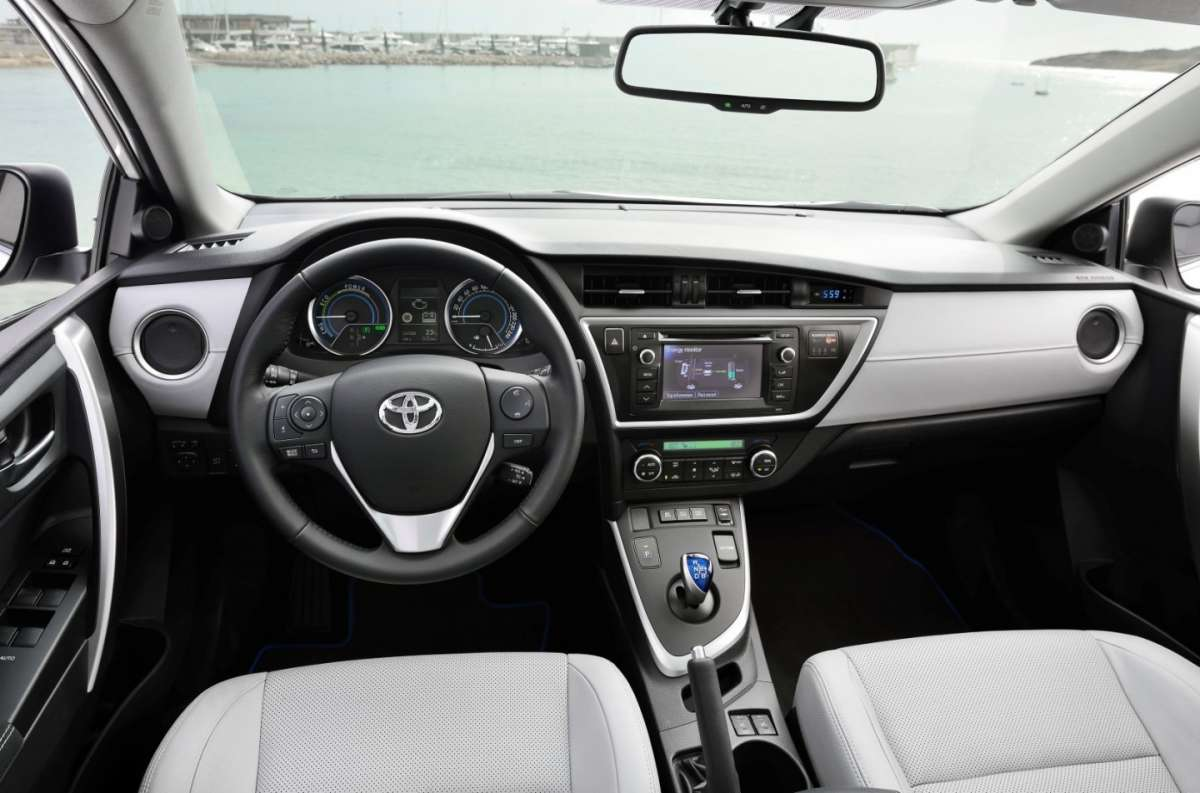 plancia Toyota Auris Touring Sports