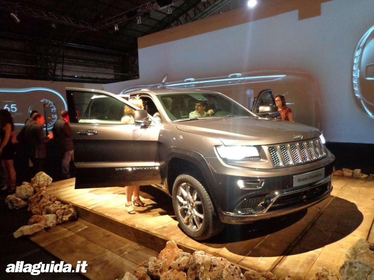 Jeep Grand Cherokee, restyling 2013