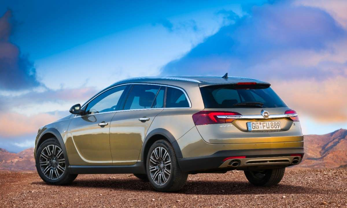 Opel Insignia Country Tourer, integrale