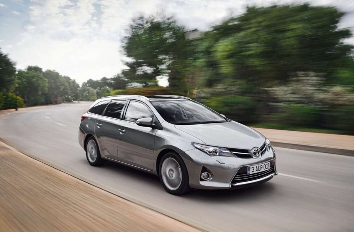 Toyota Auris Touring Sports, cerchi in lega
