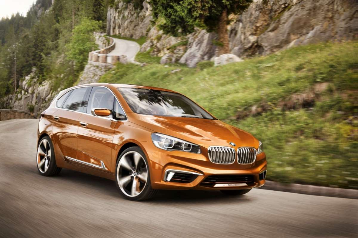 Bmw Serie 2 Active Tourer Concept