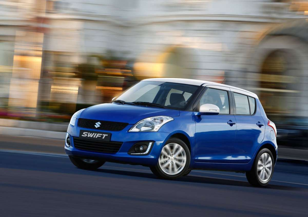 Suzuki Swift restyling 2013