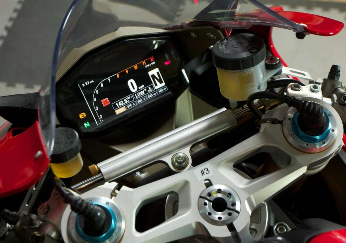 Ducati 1199 Panigale S MY 2013 TFT Screen1