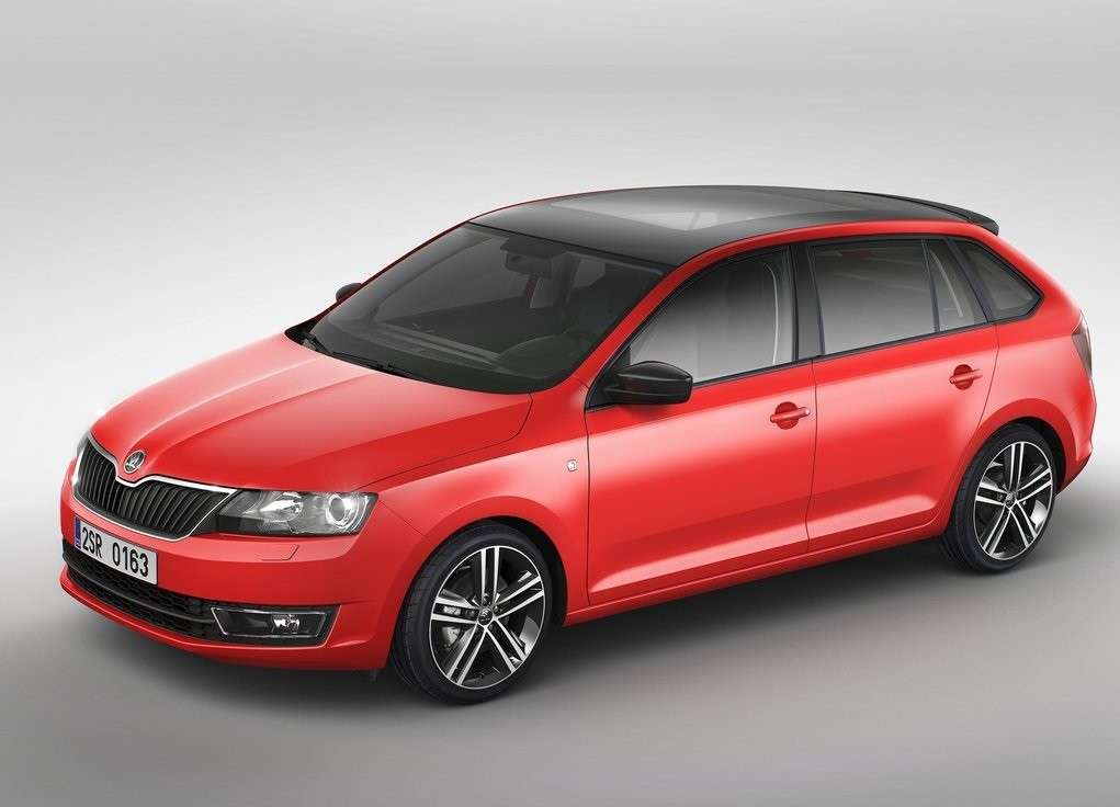 Skoda Rapid Spaceback, dimensioni