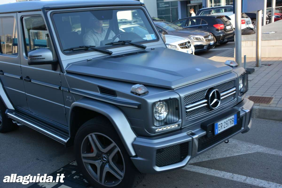 Mercedes G65 AMG frontale