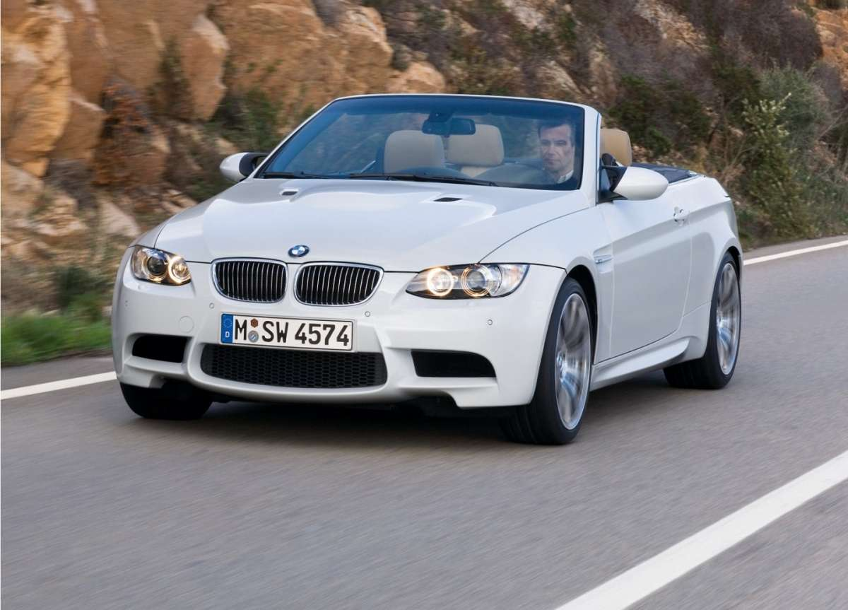 BMW M3 cabriolet frontale