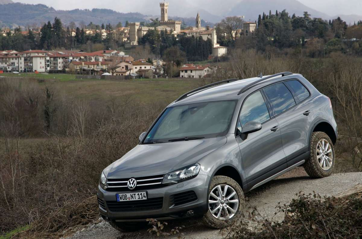 Touareg in offroad