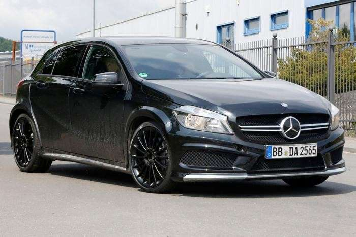 Mercedes A45 AMG Black Series, foto spia