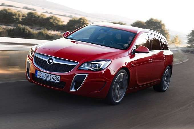 Opel Insignia Sports Tourer OPC Restyling