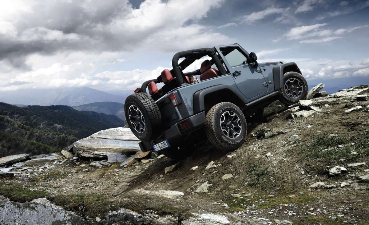 Wrangler Rubicon 10th Anniversary Edition in salita