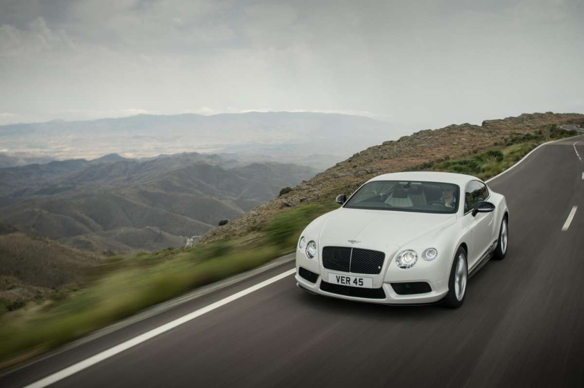 Bentley Continental GT V8 S coupe, motore