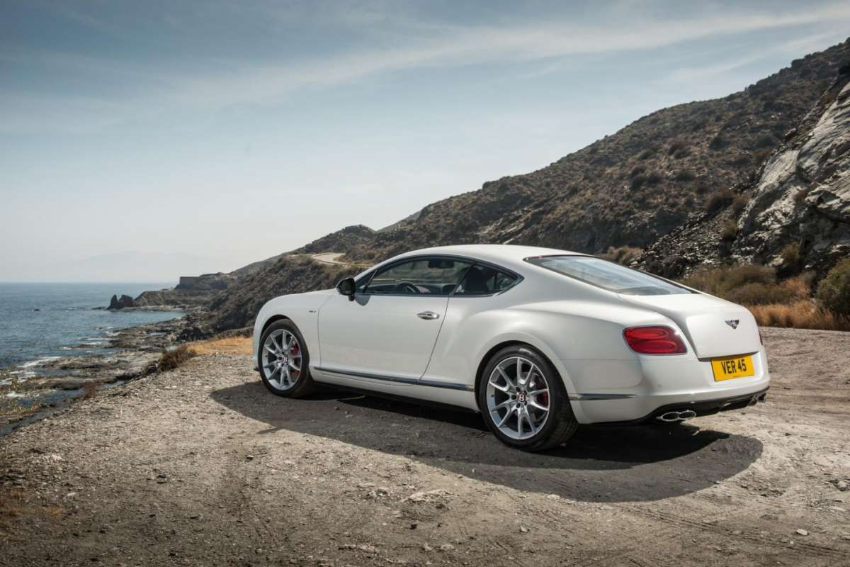Bentley Continental GT V8 S coupe, scarichi