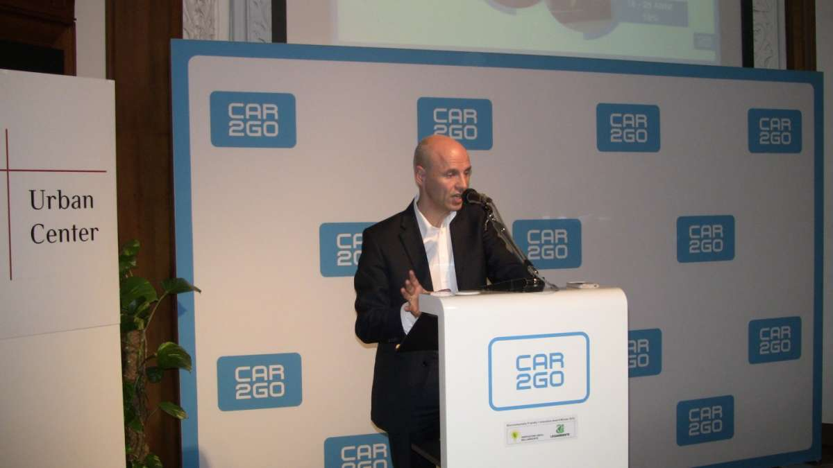 CEO Car2go  Conferenza stampa