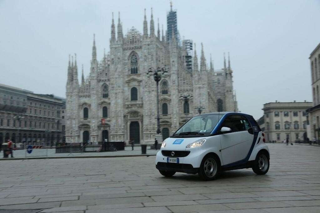 arriva il car sharing a Milano