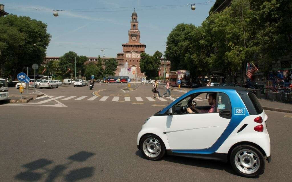 450 smart per il Car2go