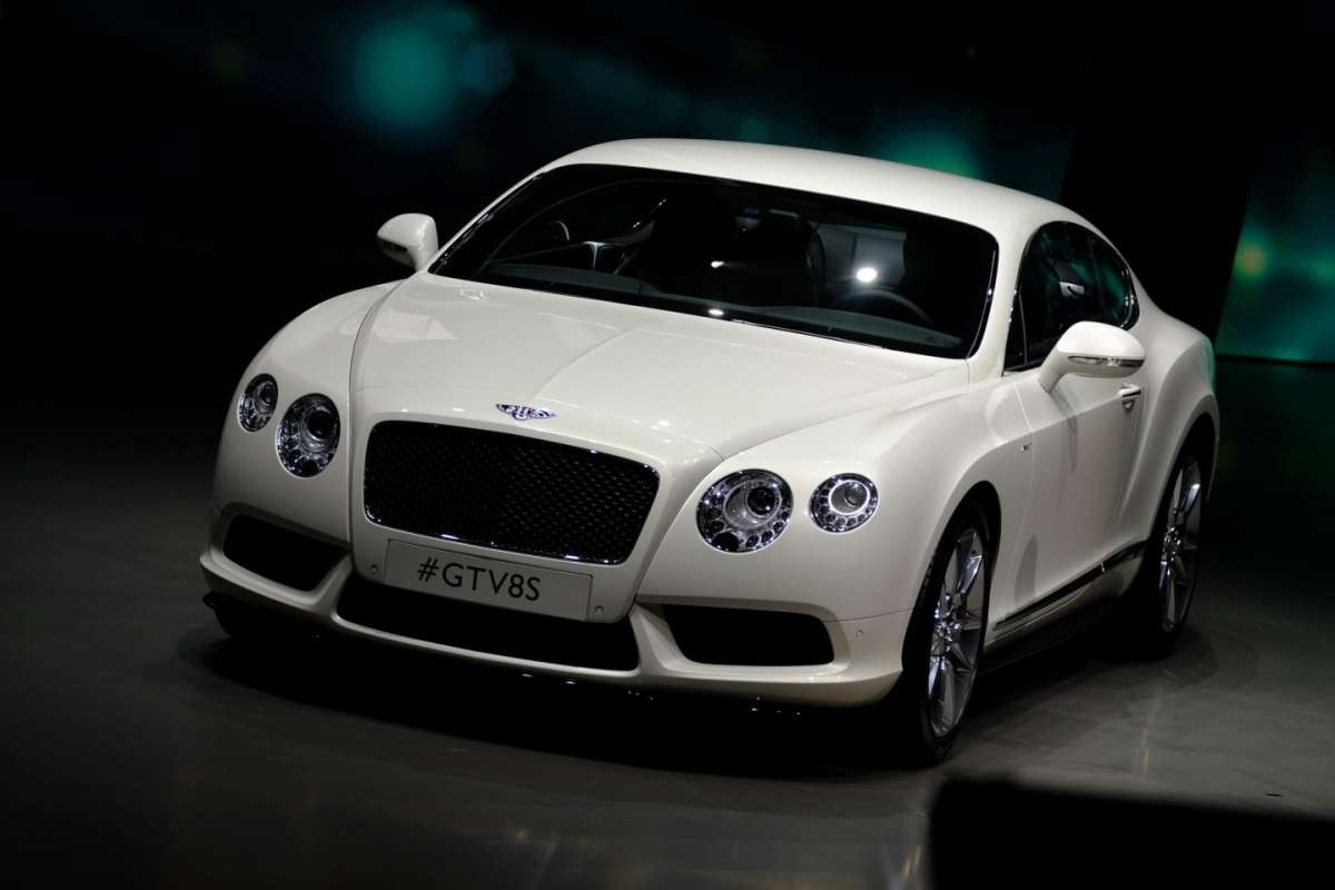Bentley Continental GT V8 S, prestazioni