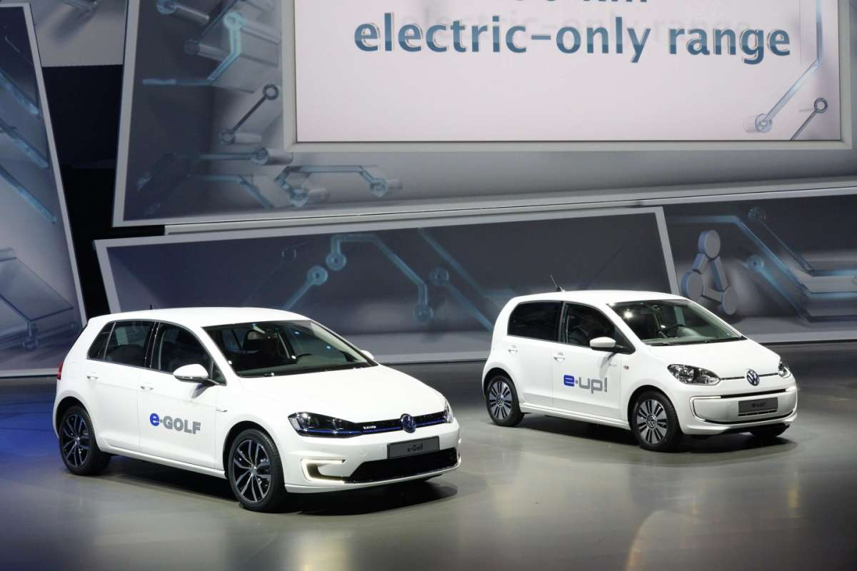 Volkswagen e-Golf ed e-up!