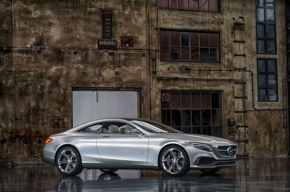 Mercedes Classe S coupe, design