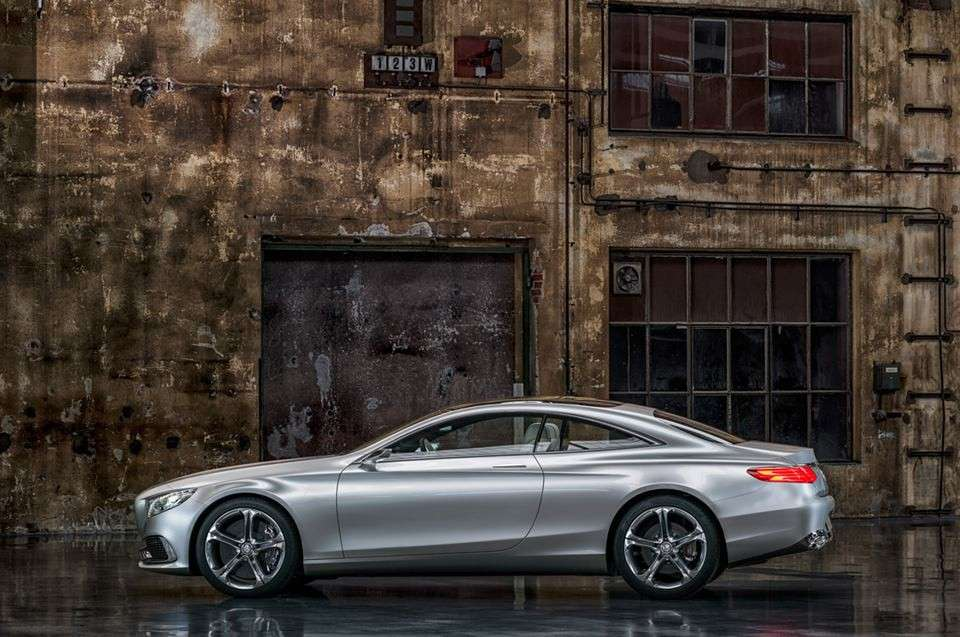 Mercedes Classe S coupe, dimensioni