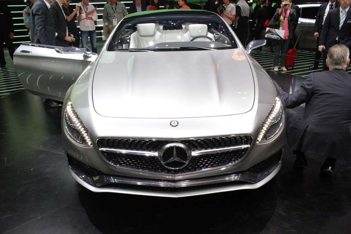 Mercedes Classe S coupe, muso