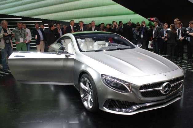 Mercedes Classe S coupe, Salone Francoforte 2013