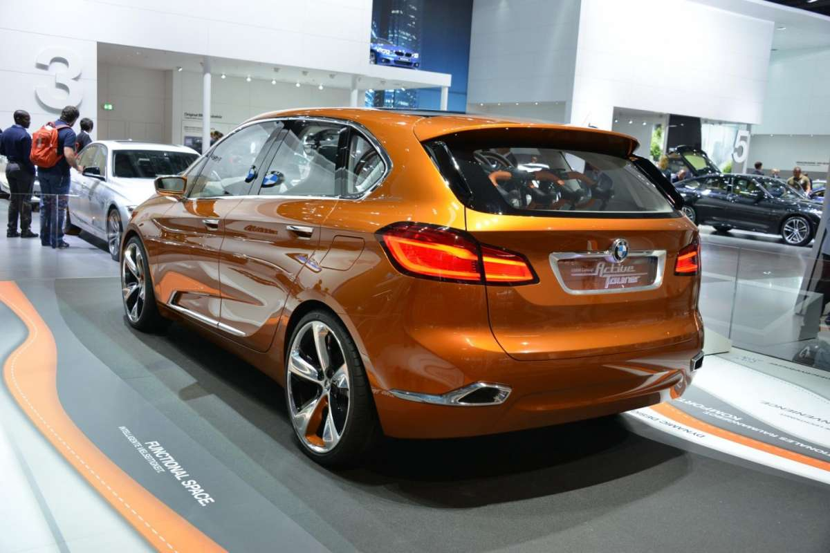 Bmw Active Tourer, posteriore