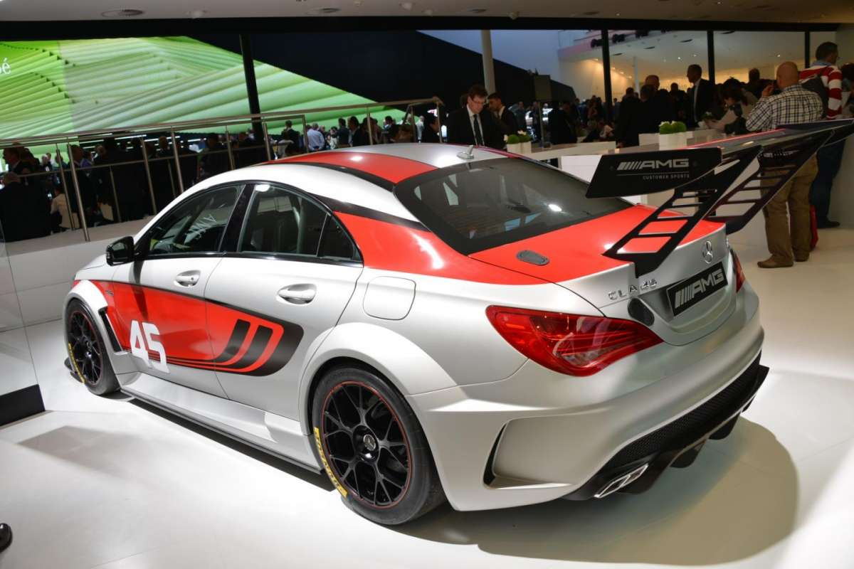 Mercedes CLA Racing Series, alettone
