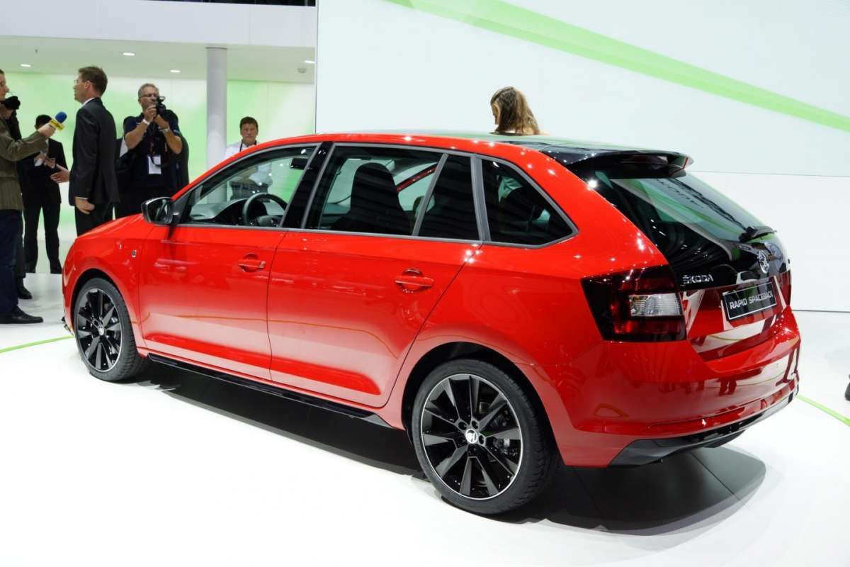 Skoda Rapid Spaceback, motori