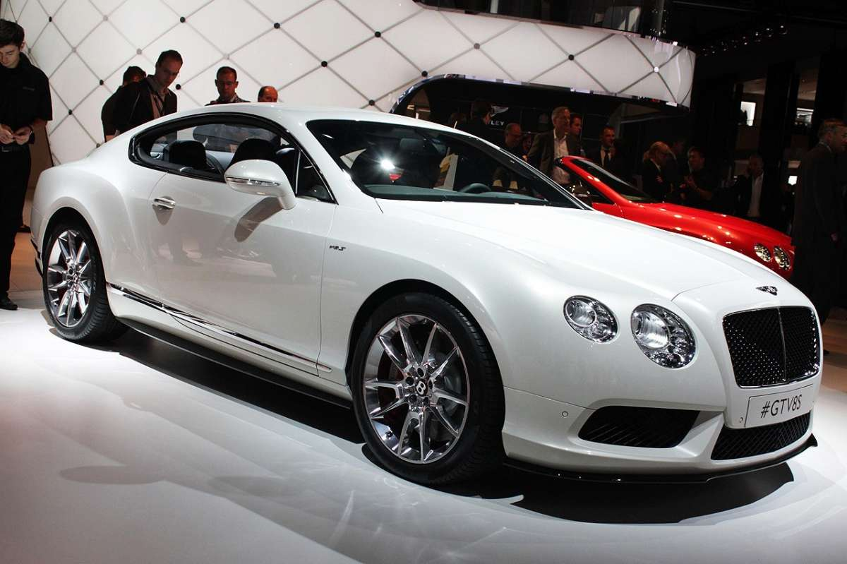 Bentley Continental GT V8 S al Salone di Francoforte 2013
