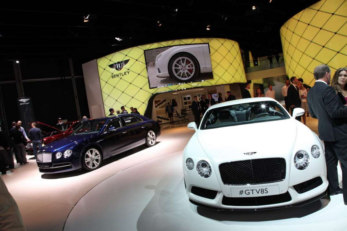 Allo stand Bentley
