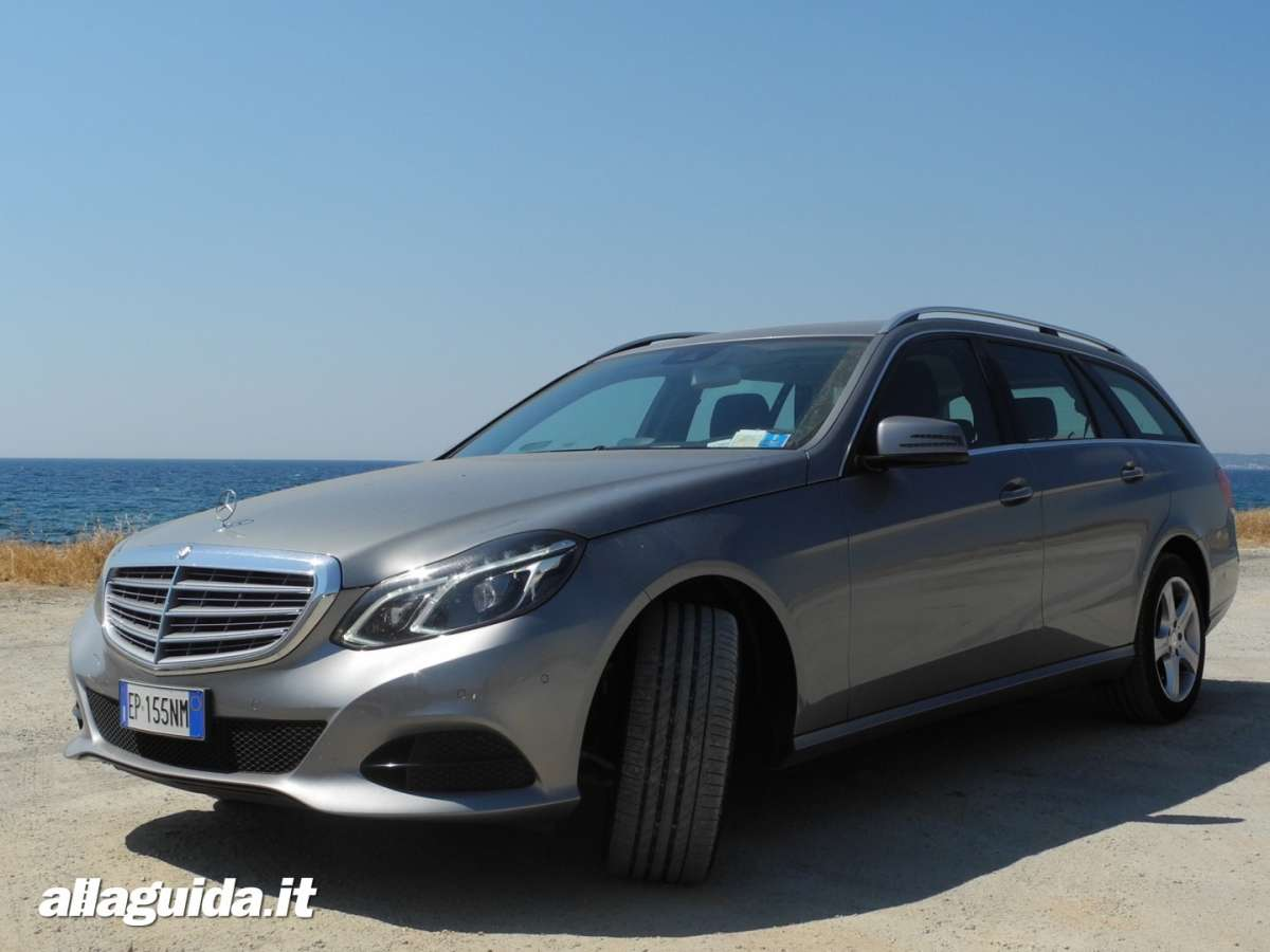 Mercedes E220 CDI Executive wagon, prova su strada