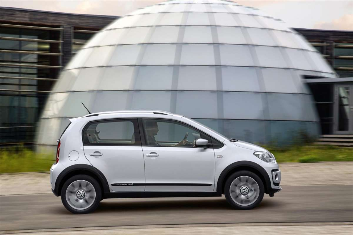 Volkswagen Cross up!, cerchi in lega