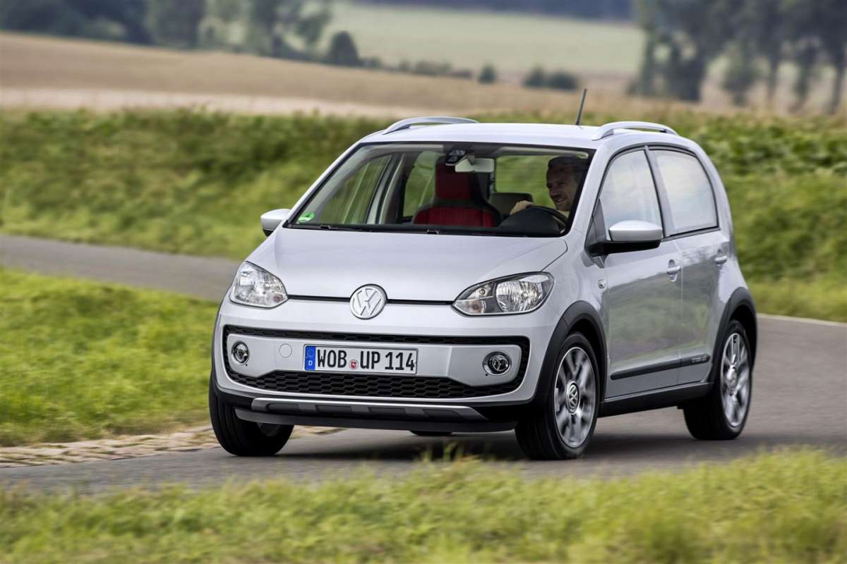 Volkswagen Cross up!, consumi