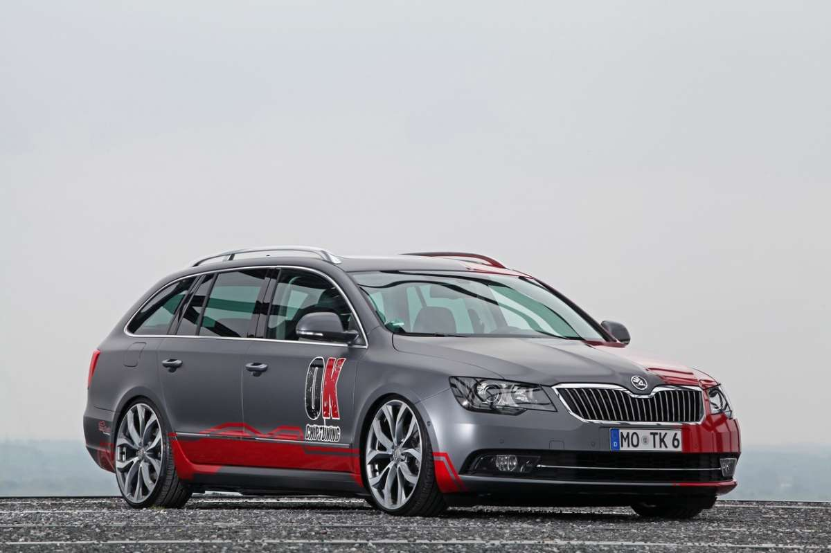 Skoda Superb Wagon by OK-Chiptuning