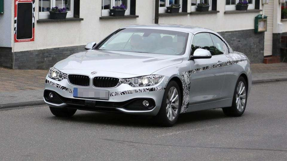 Bmw Serie 4 Cabriolet, foto spia