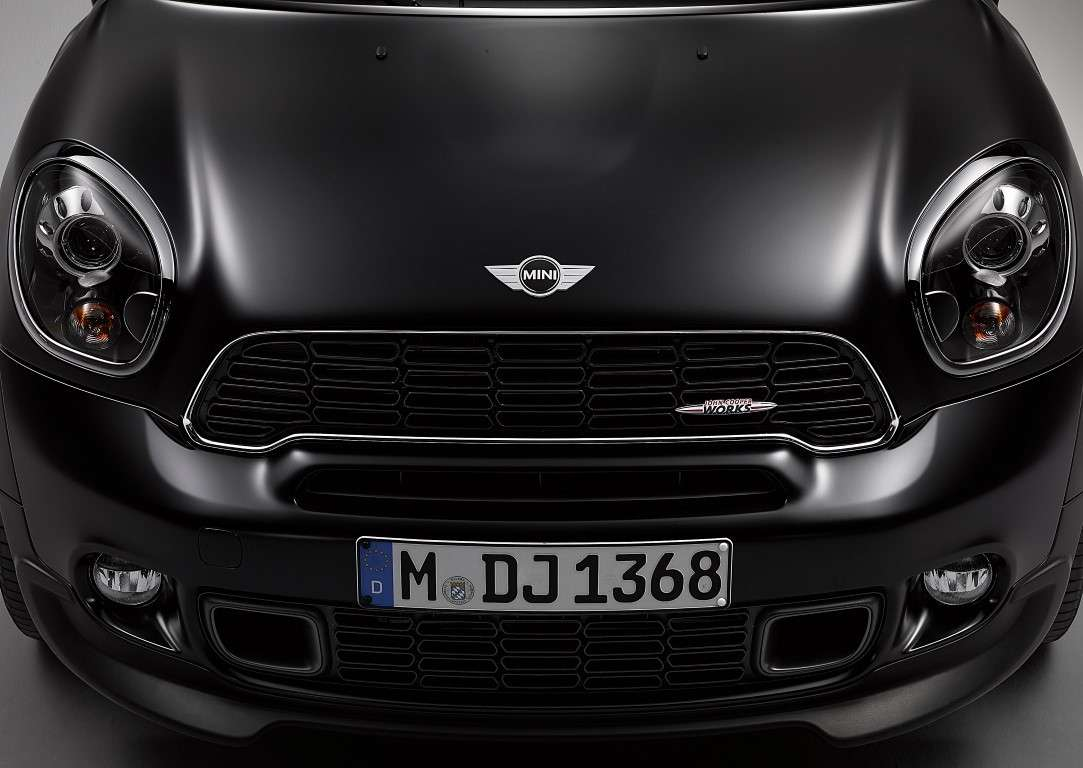 Mini Paceman Frozen Black, edizione limitata