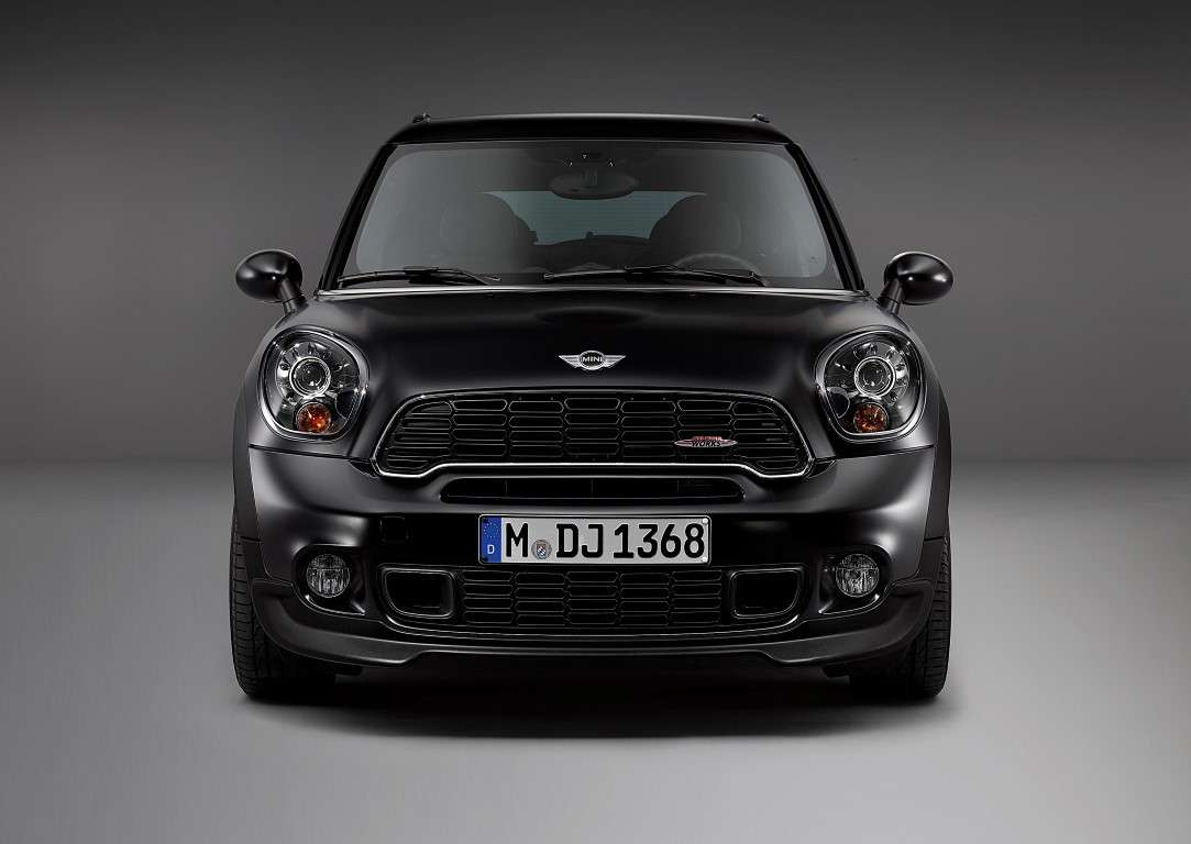 Mini Paceman Frozen Black, John Cooper Works