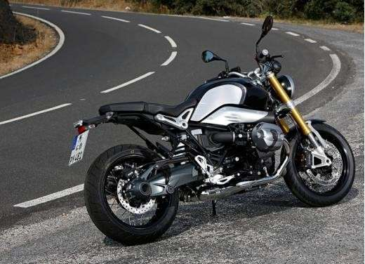 Bmw R Nine T, forcellone