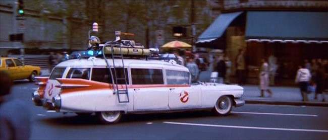 La Station Wagon di Ghost Busters