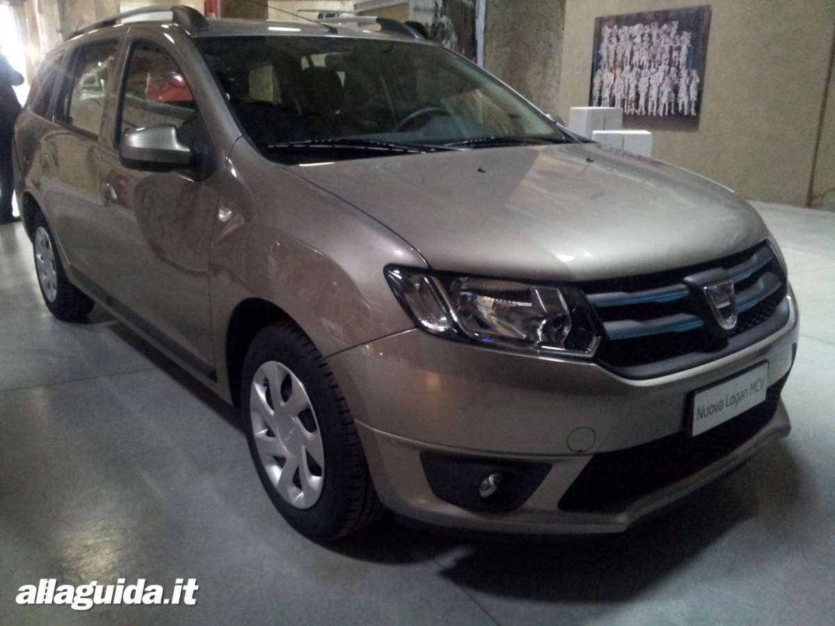 dacia logan mcv accessori