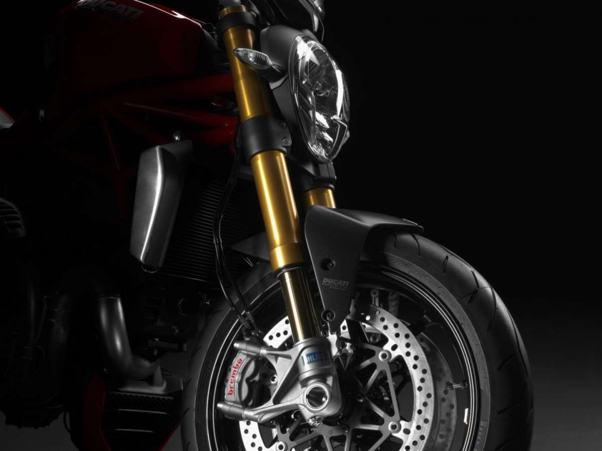 Ducati Monster 1200, forcella