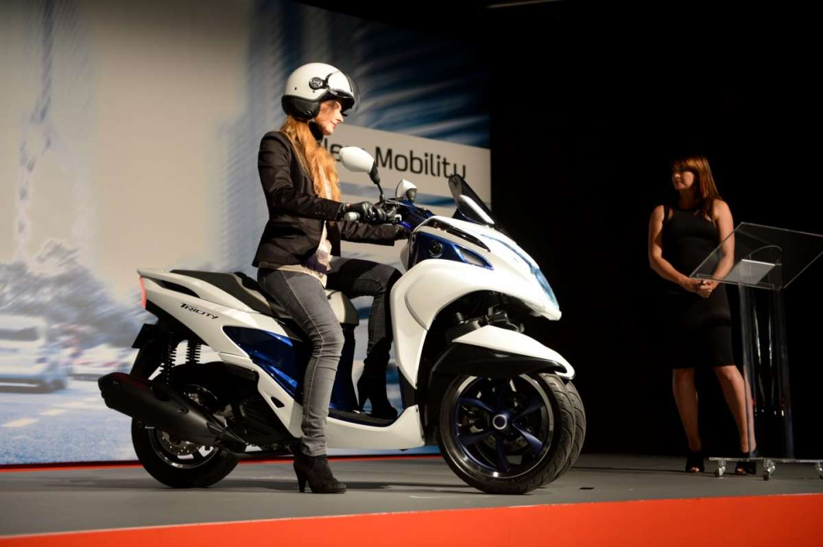 Yamaha Tricity, scooter tre ruote