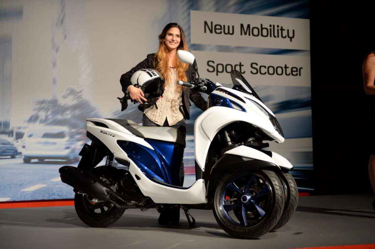 Yamaha Tricity, scooter