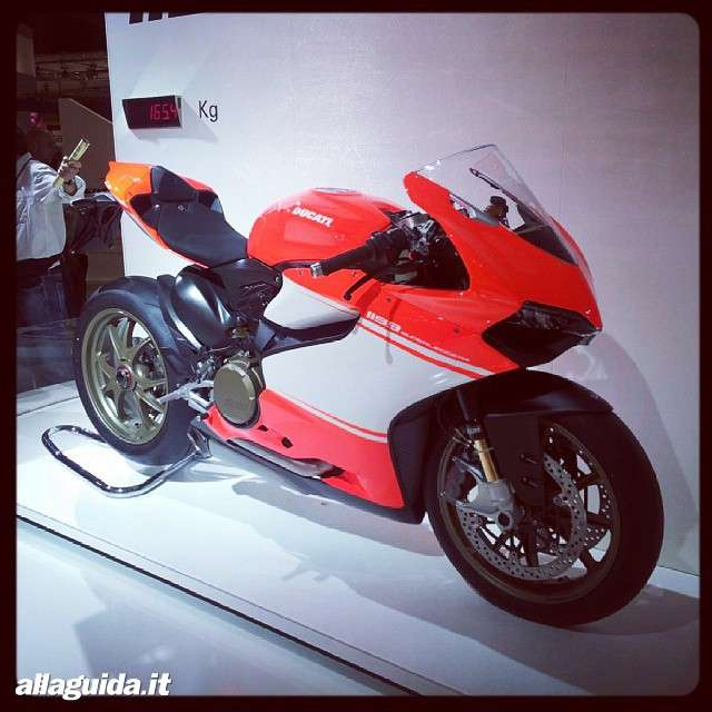 Ducati 1199 Superleggera Eicma 2013