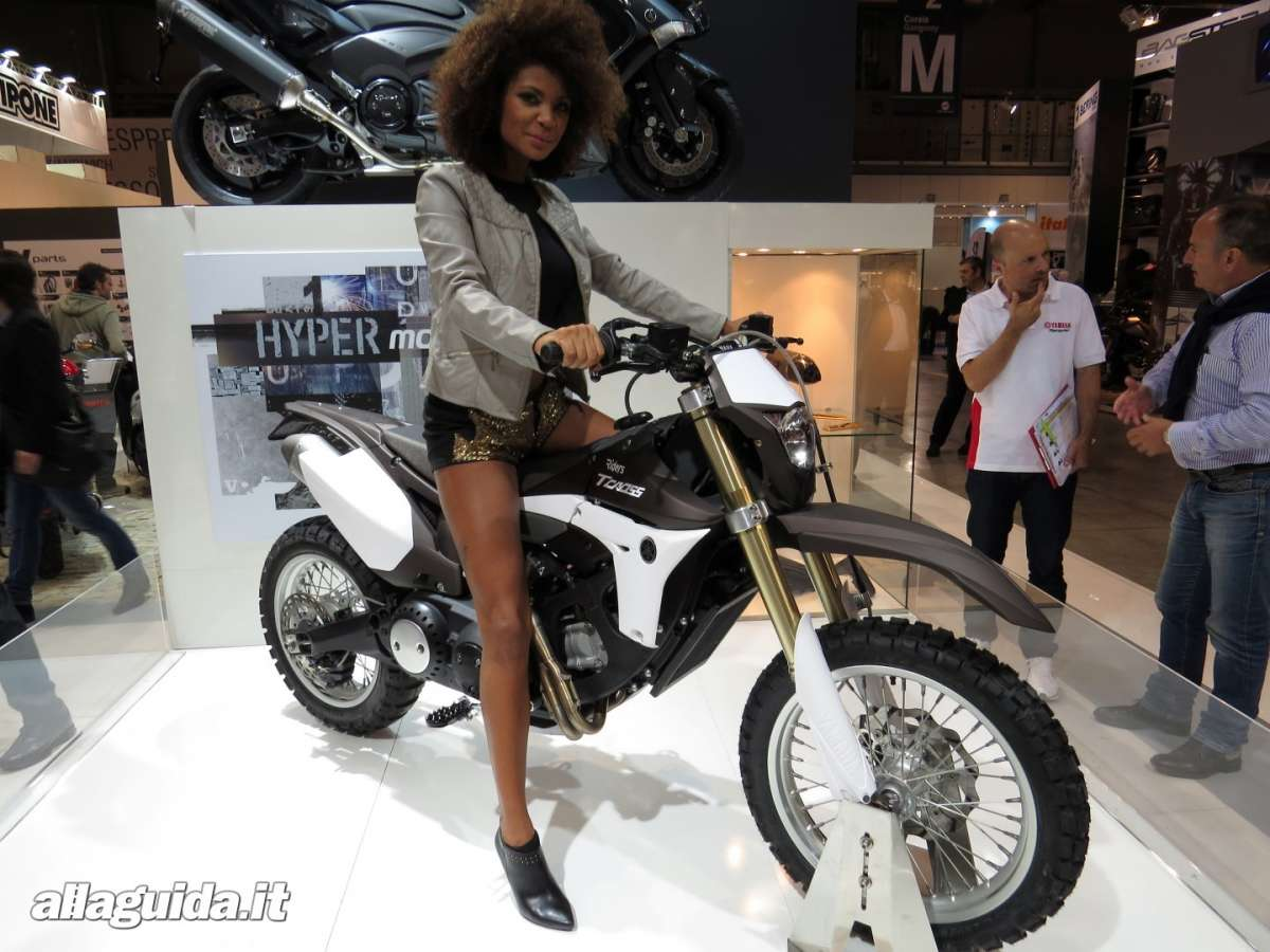 Yamaha T Cross, Eicma 2013 - 06