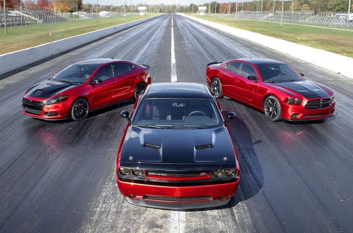 Dart, Challenger e Charger Scat Package