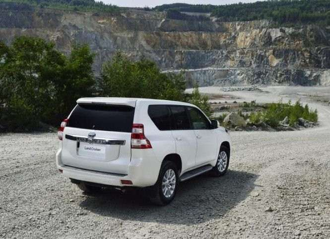 Land Cruiser MY 2014 bianco